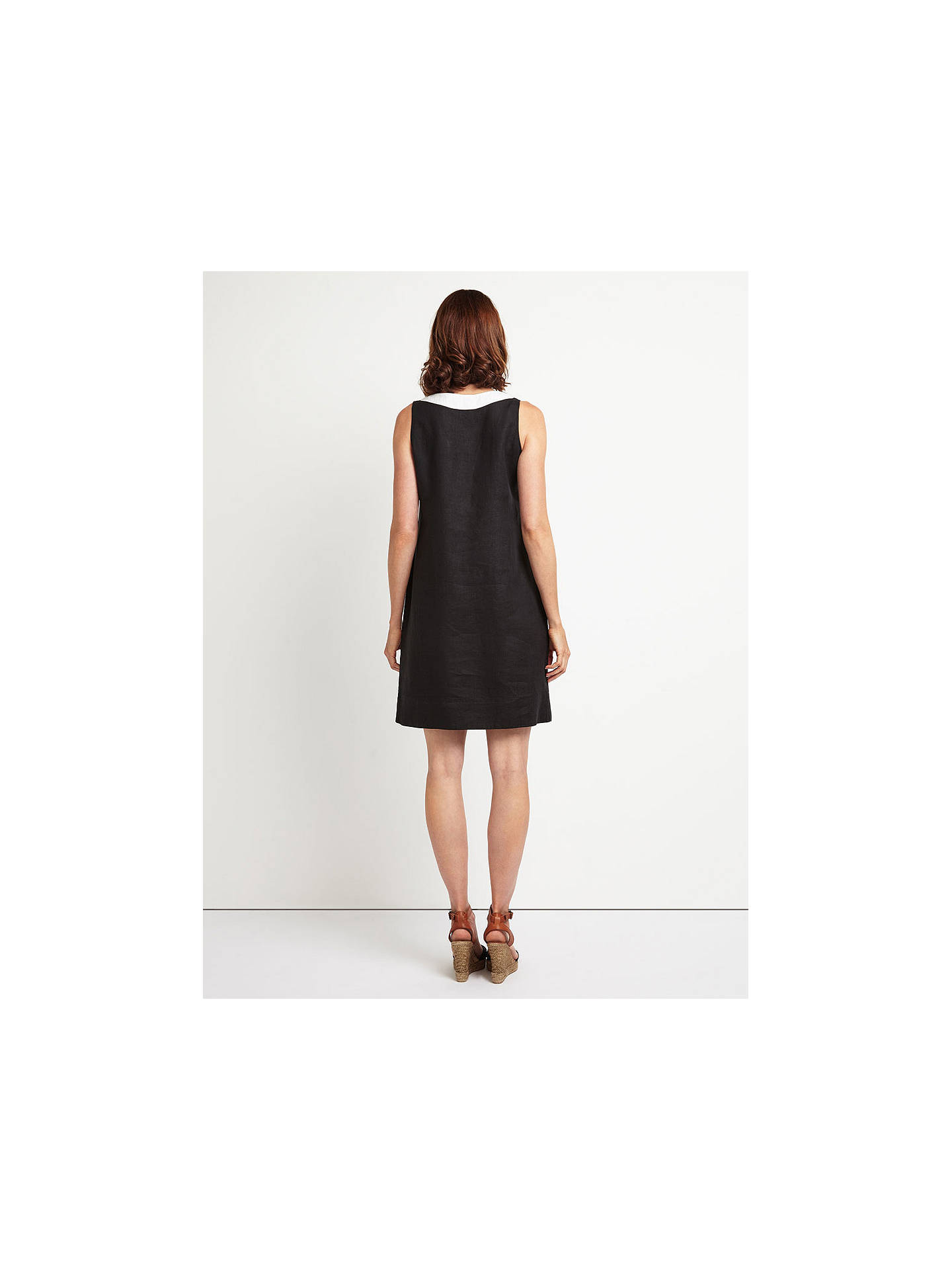 b4da7024e5 Buy East Linen Notch Neck Dress