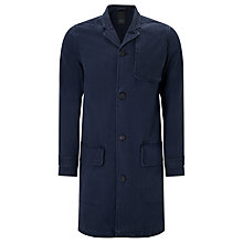 Buy Denham Travel Coat, Dark Navy Online at johnlewis.com
