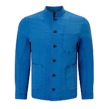 Buy Denham Mao Apex Workwear Jacket, Blue City Online at johnlewis.com