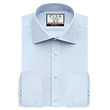 Buy Thomas Pink Timothy Texture Double Cuff Slim Fit Shirt Online at johnlewis.com