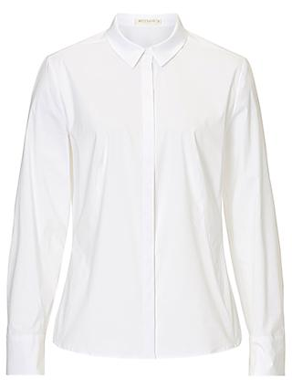 Betty & Co Cotton Stretch Blouse, Bright White