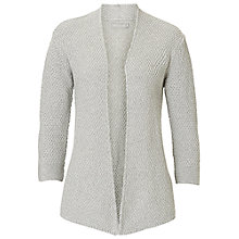 Buy Betty & Co. Edge To Edge Cardigan, Grey Melange Online at johnlewis.com