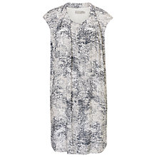 Buy Betty Barclay Printed Shift Dress, Silver/Grey Online at johnlewis.com