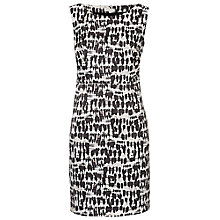Buy Betty & Co. Printed Shift Dress, Cream/Black Online at johnlewis.com