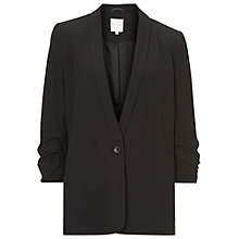 Buy Betty & Co. Crepe Jacket, Black Online at johnlewis.com