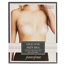 Buy Fashion Forms Silicone Skin Adhesive Bra, Clear Online at johnlewis.com
