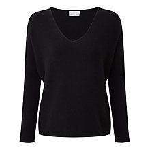 Buy Pure Collection Hallie Sempre Cashmere Jumper, Navy Online at johnlewis.com