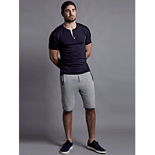 Buy Hamilton and Hare Henley T-Shirt, Navy Online at johnlewis.com
