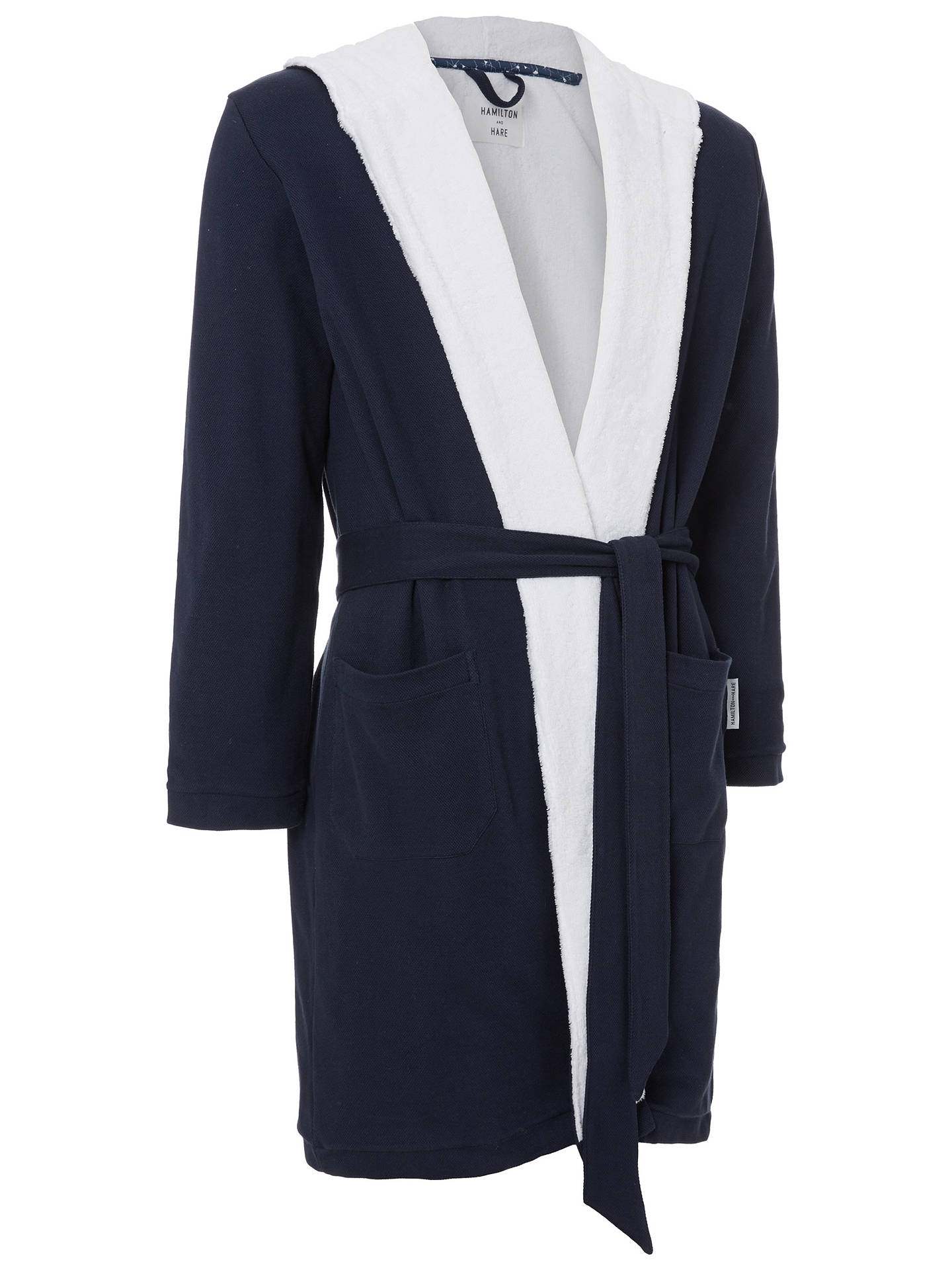 ... BuyHamilton and Hare Cotton Towelling Boxing Robe d3cdde440
