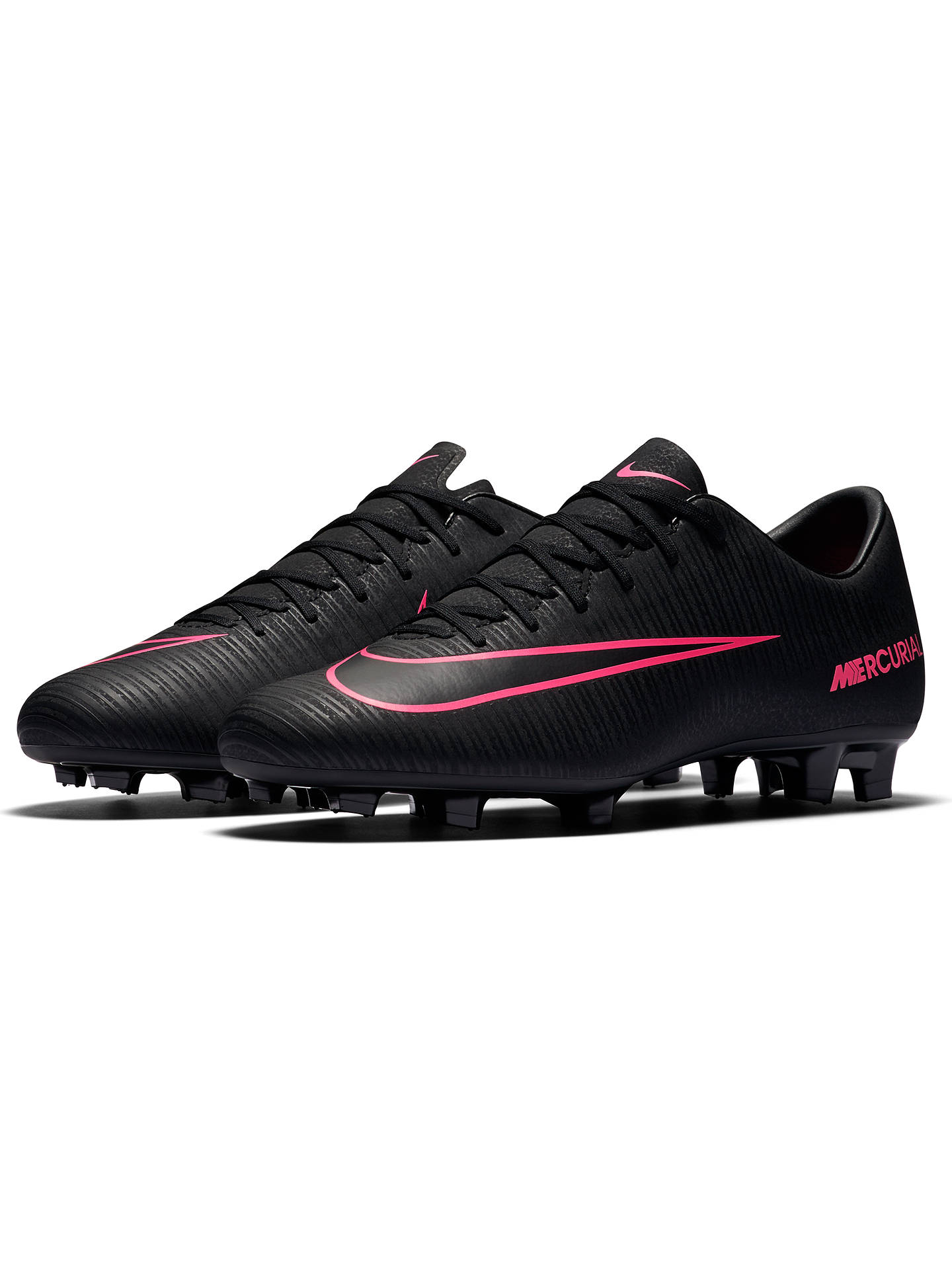 huge discount 631ab 6e446 Nike Mercurial Victory VI FG Men's Football Boots, Black ...