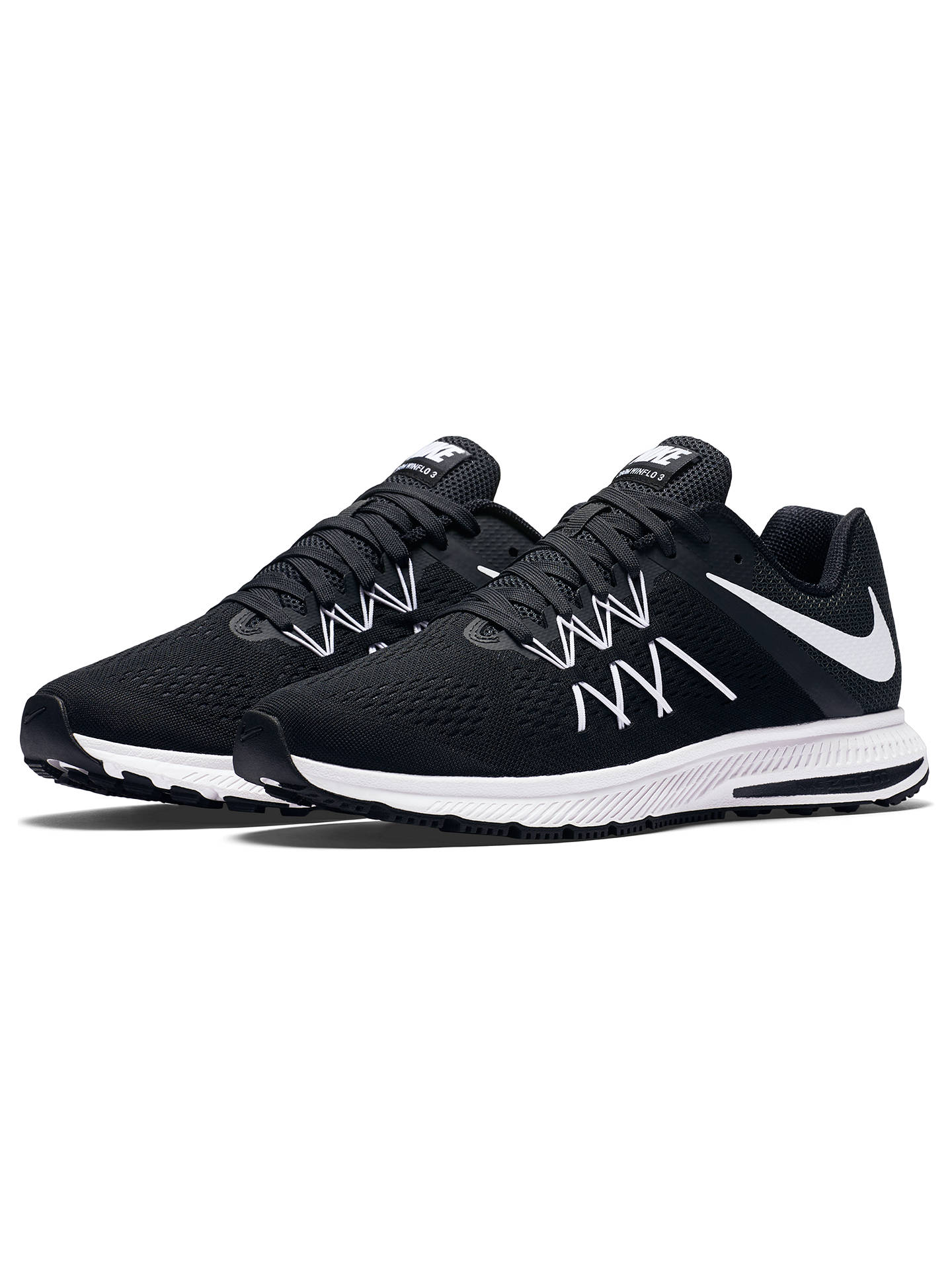 bf69fe8f24ea ... discount buynike air zoom winflo 3 mens running shoes black white 7  online at 2d26e e60db