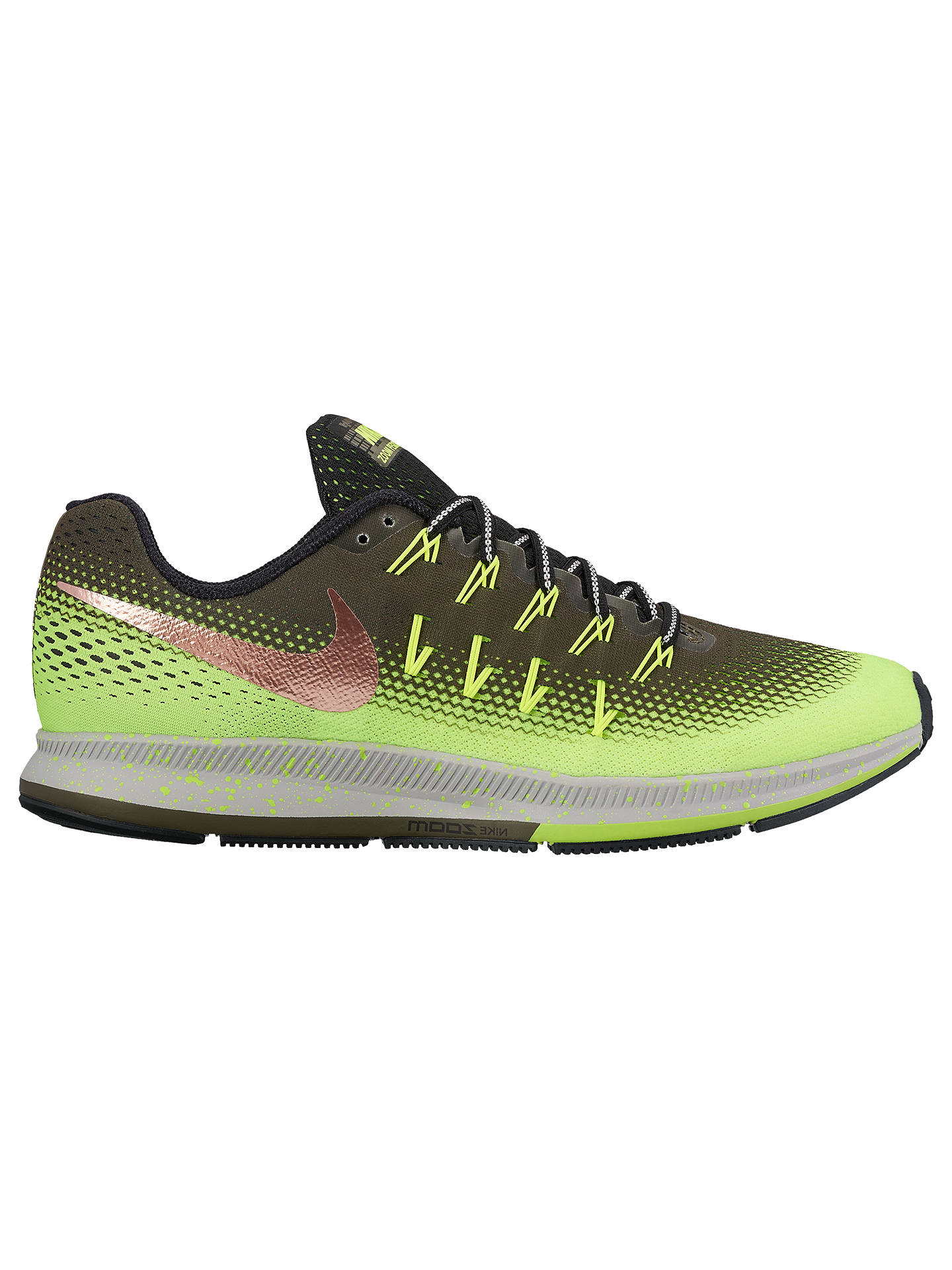 new products a2e6f e083d Nike Air Zoom Pegasus 33 Shield Men's Running Shoes, Cargo ...