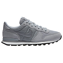 Buy Nike Internationalist Women's Trainers, Stealth Dark Grey/Summit White Online at johnlewis.com