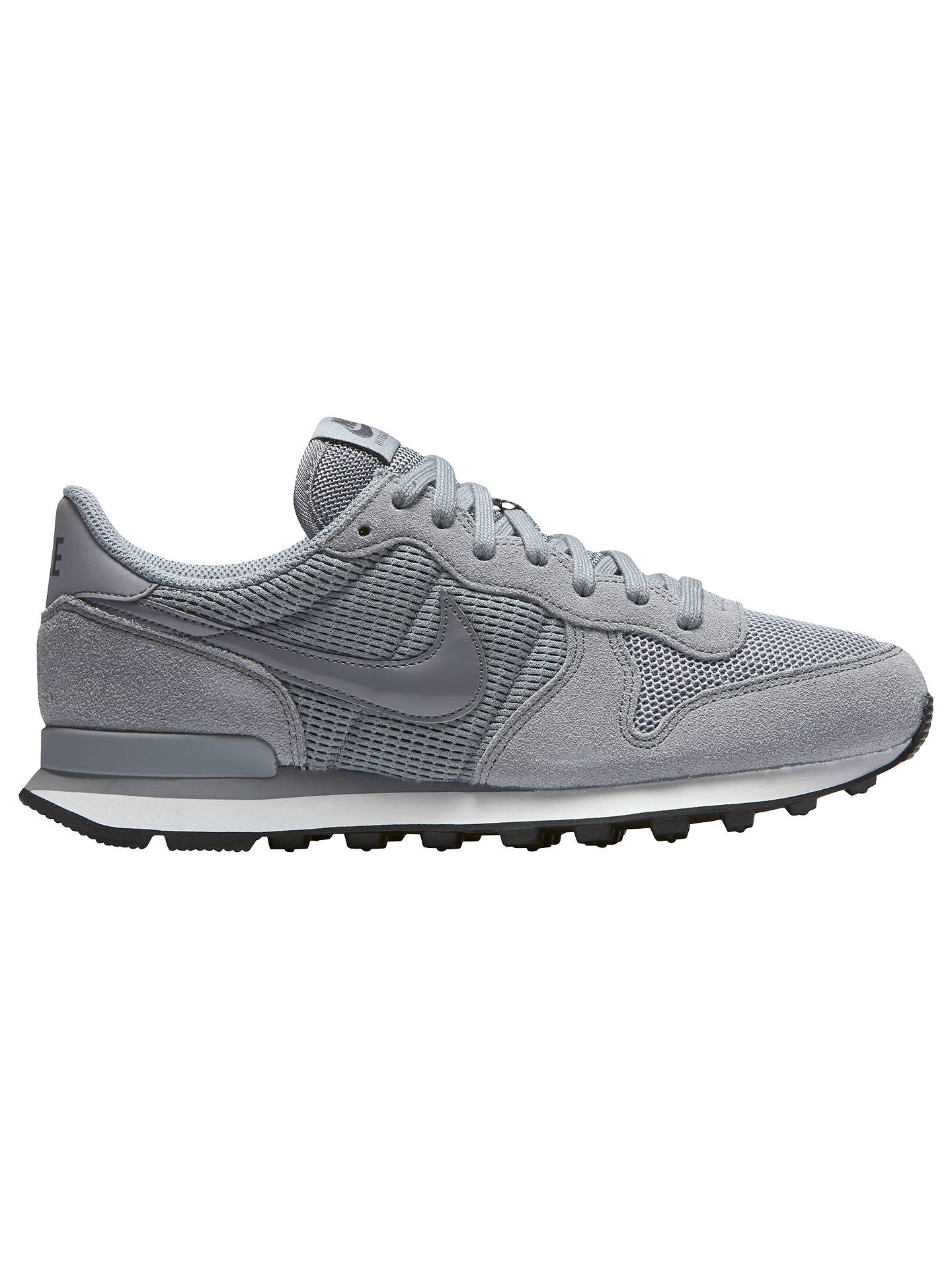 brand new cf316 f77cf BuyNike Internationalist Womens Trainers, Stealth Dark GreySummit White,  4 Online at johnlewis ...