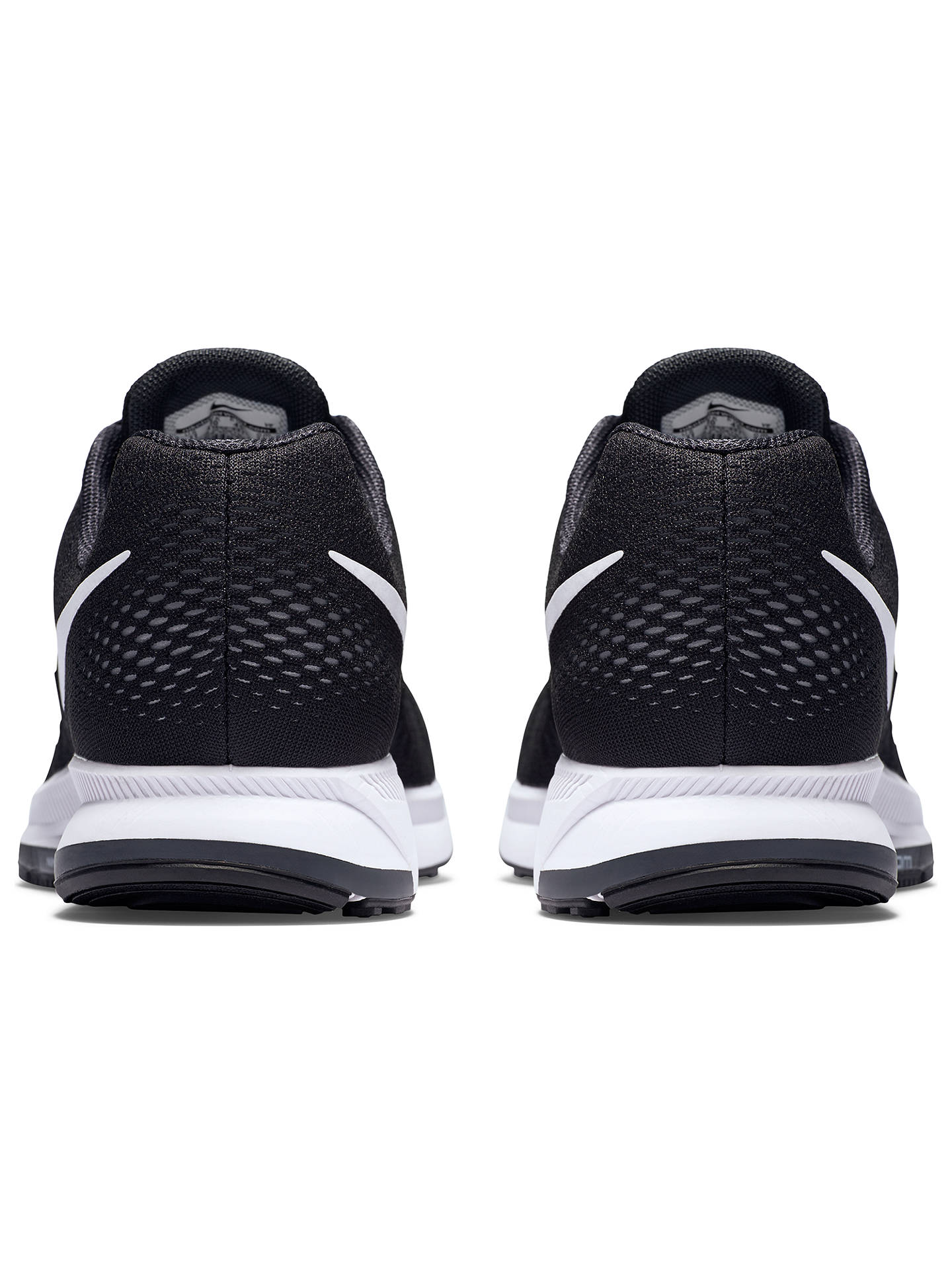 separation shoes 5d919 a3ea1 Nike Air Zoom Pegasus 33 Men's Running Shoes, Black/White at ...