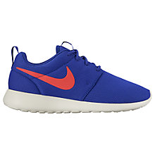 Buy Nike Roshe One Women's Trainers, Concord/Ember Glow Online at johnlewis.com