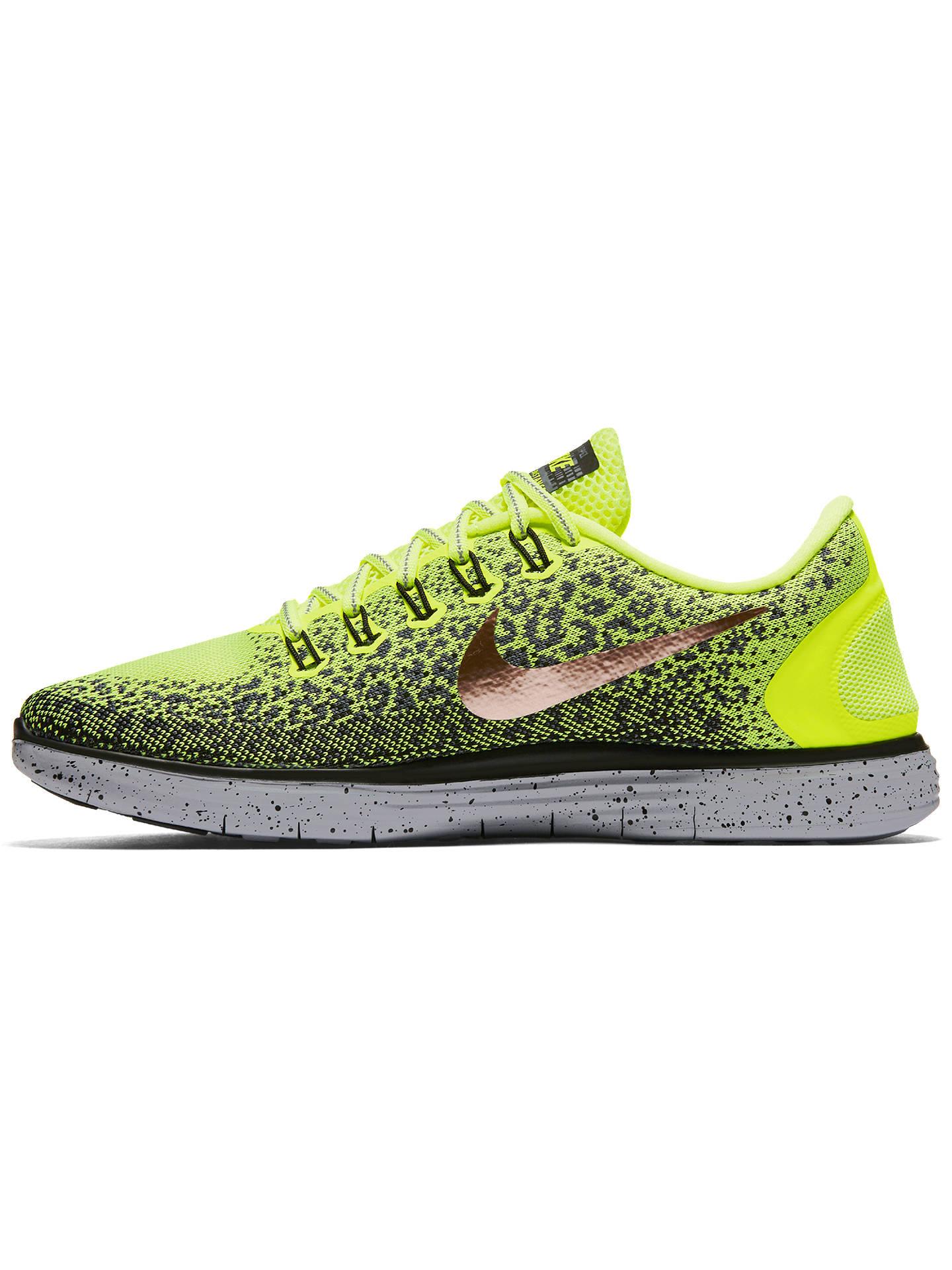 newest 17cd0 e4da7 ... Buy Nike Free RN Distance Shield Men s Running Shoes, Volt Black, 7  Online ...