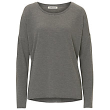 Buy Betty Barclay Long Sleeved Top, Middle Grey Melange Online at johnlewis.com