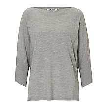 Buy Betty Barclay Fine Knit Jumper, Light Grey Melange Online at johnlewis.com