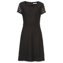 Buy Betty Barclay Lace Shift Dress, Black Online at johnlewis.com