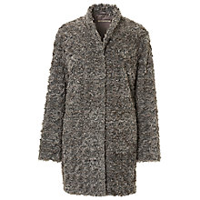 Buy Betty Barclay Faux Fur Coat, Grey Taupe Online at johnlewis.com
