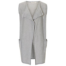 Buy Betty Barclay Lightweight Gilet, Light Grey Melange Online at johnlewis.com