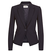 Buy Hobbs Lynsey Jacket, Navy Online at johnlewis.com