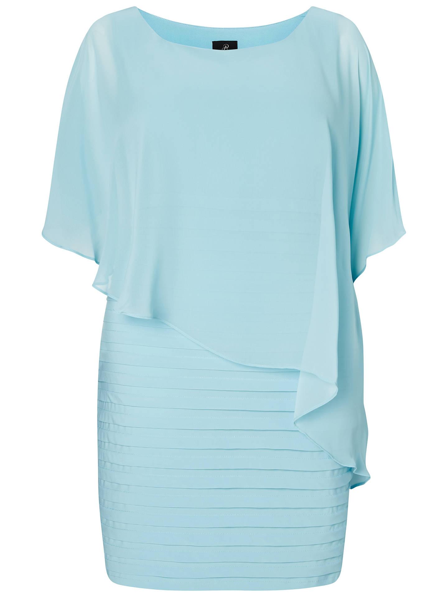 Adrianna Papell Women/'s Chiffon Drape Overlay With Banding Dress Black size uk 8
