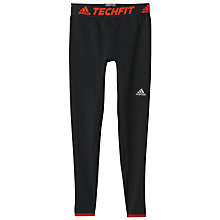 Buy Adidas Techfit Heat Hero Training Tights, Black Online at johnlewis.com
