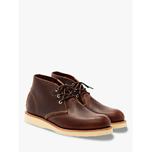Buy Red Wing 3141 Work Chukka Boot, Briar Oil Slick Online at johnlewis.com