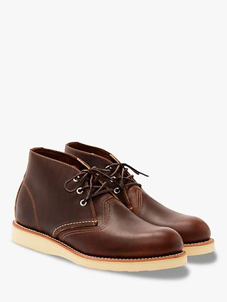 Red Wing 3141 Work Chukka Boot, Briar Oil Slick