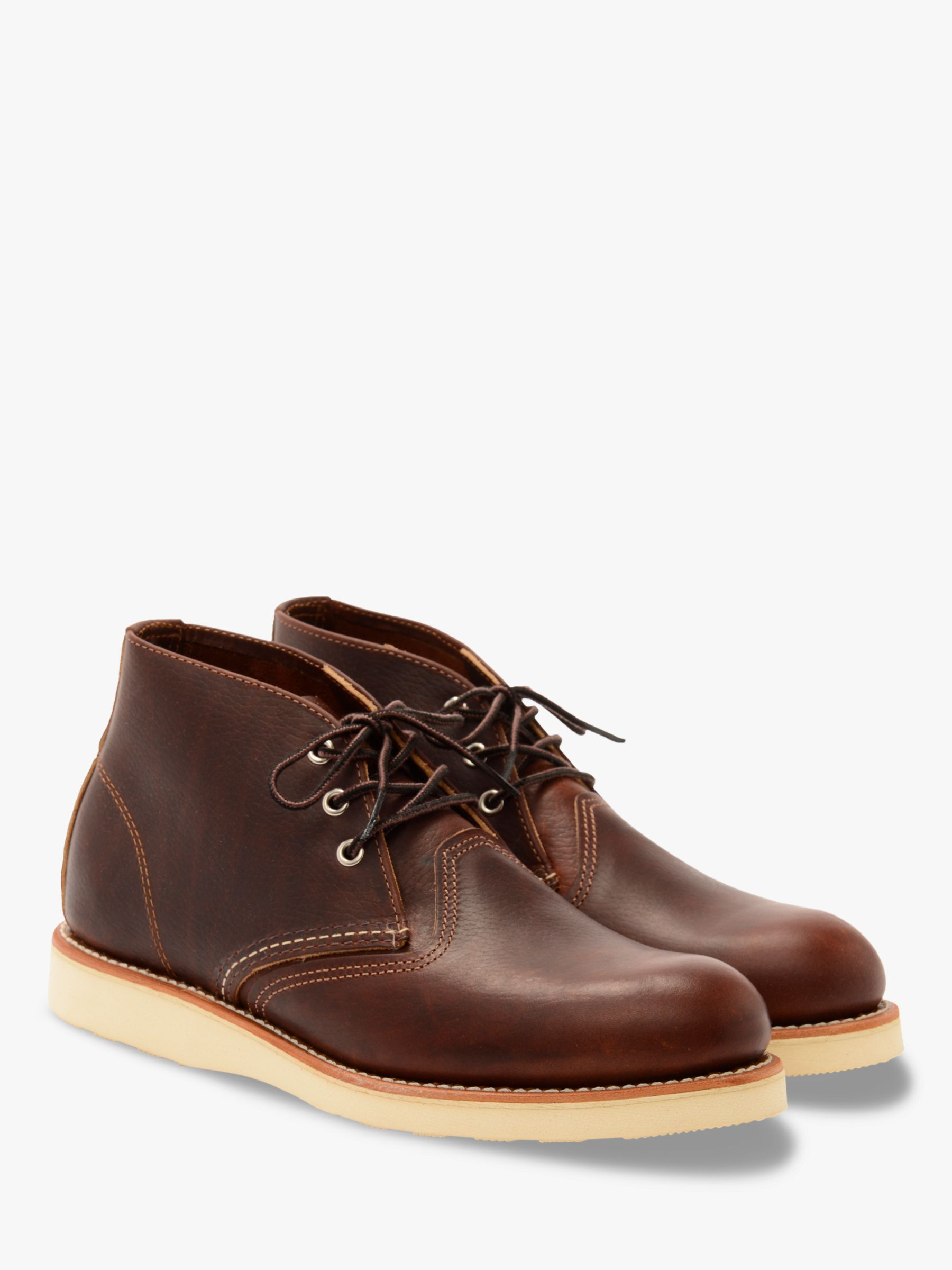 Red Wing Red Wing 3141 Work Chukka Boot, Briar Oil Slick