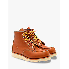 Buy Red Wing 875 Moc Toe Boot, Oro Legacy Online at johnlewis.com