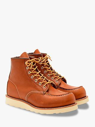 Red Wing 875 Moc Toe Boot