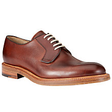 Buy JOHN LEWIS & Co. Made in England Calf Derby Shoes, Oxblood Online at johnlewis.com