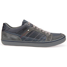 Buy Geox Box Cupsole Trainers, Navy Online at johnlewis.com