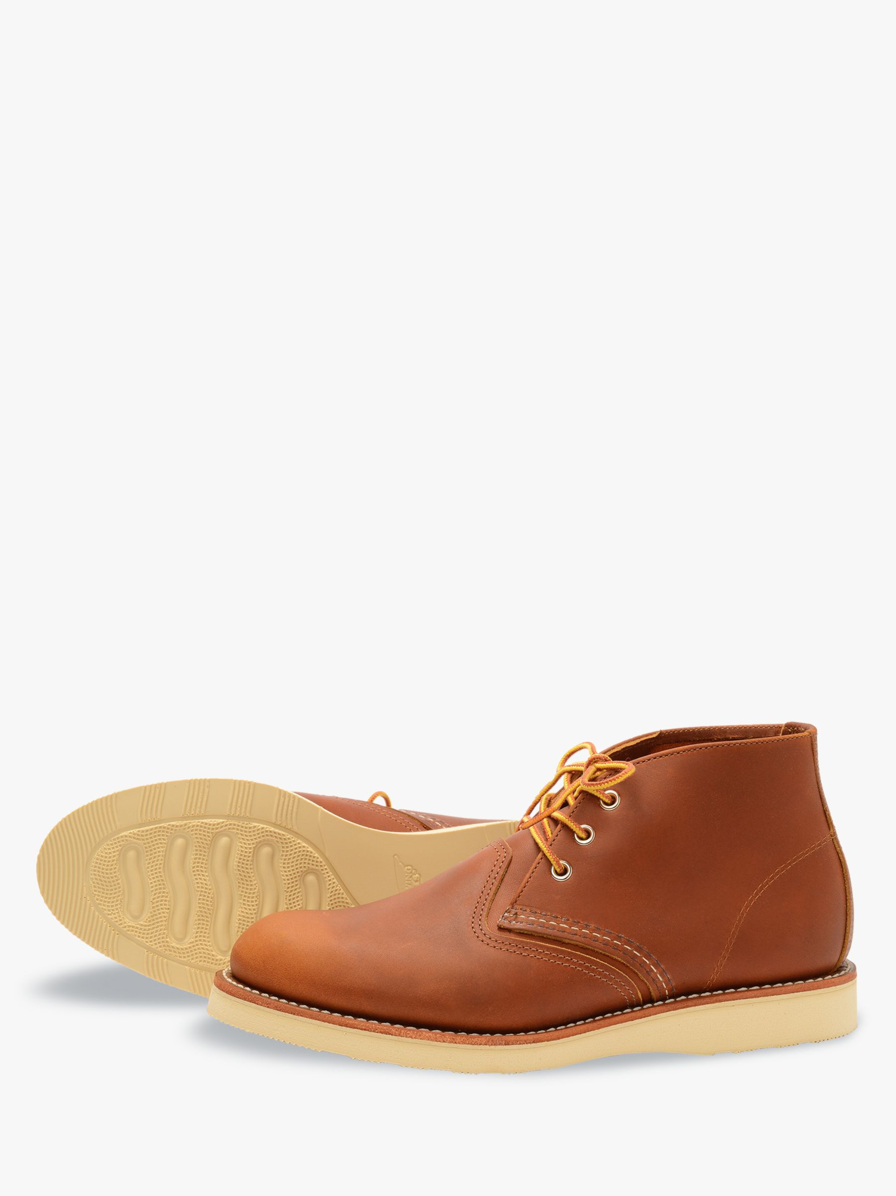 Red Wing Red Wing 3140 Work Chukka Boot, Oro-iginal