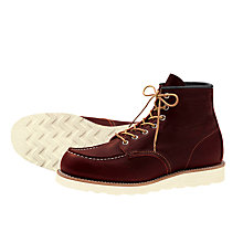 Buy Red Wing 8138 Moc Toe Boot, Briar Oil Slick Online at johnlewis.com