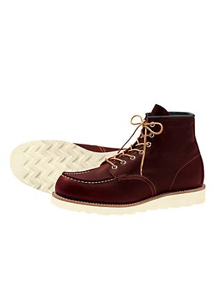 Red Wing 8138 Moc Toe Boot, Briar Oil Slick
