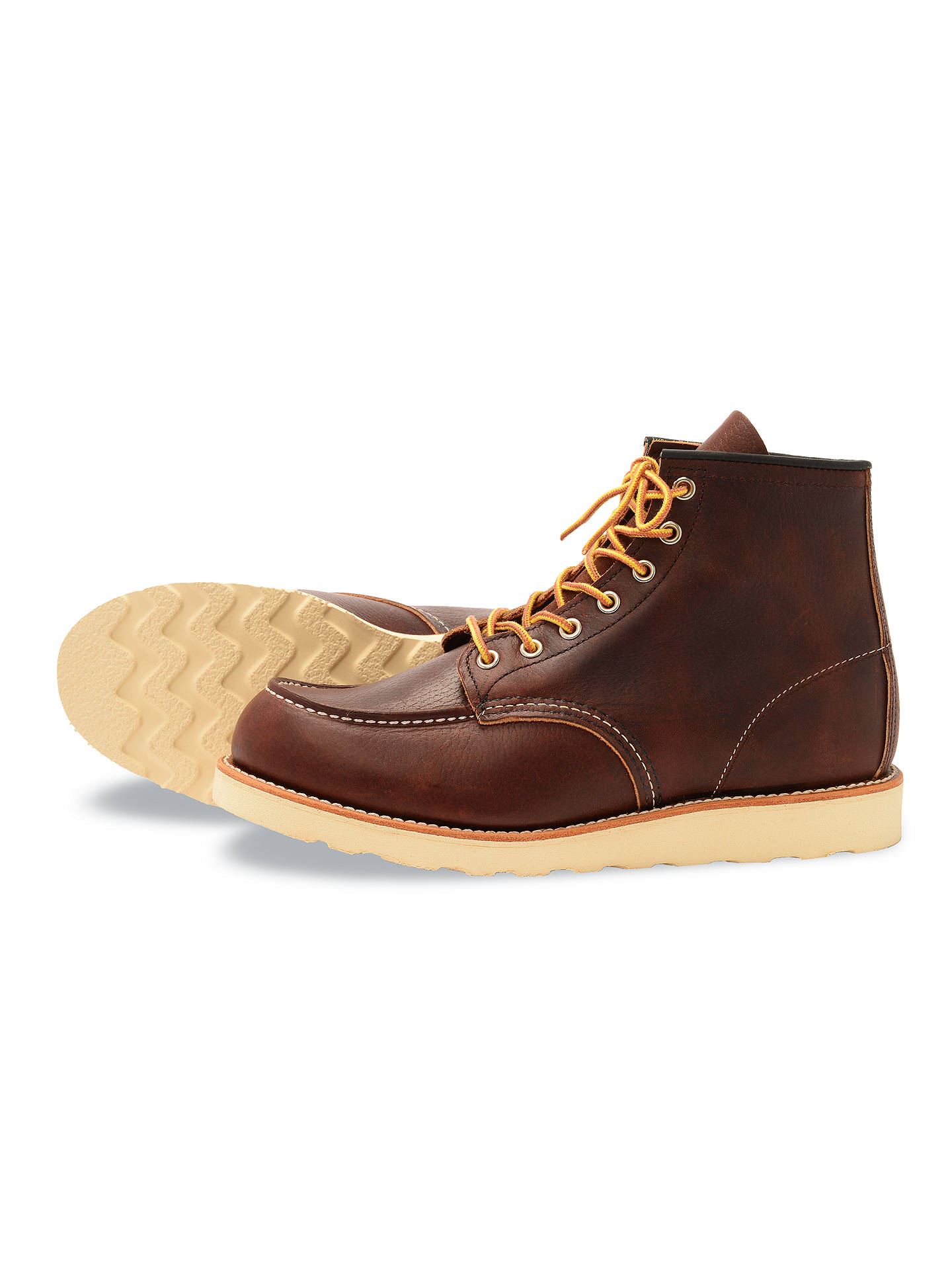Buy Red Wing 8138 Moc Toe Boot, Briar Oil Slick, 7 Online at johnlewis.com