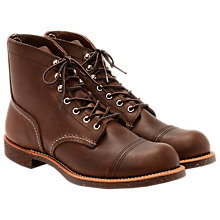 Buy Red Wing 8111 Iron Ranger Boots, Amber Harness Online at johnlewis.com