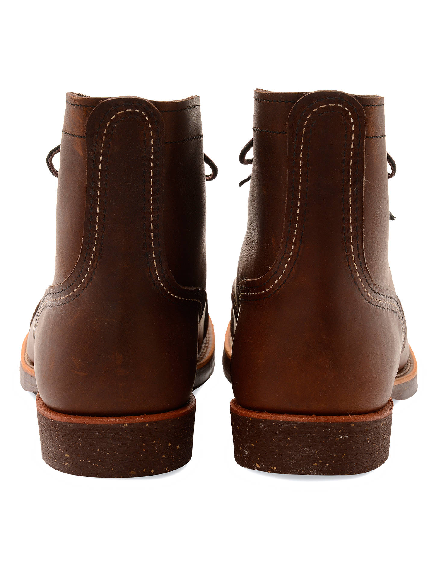 BuyRed Wing 8111 Iron Ranger Boots, Amber Harness, 7 Online at johnlewis.com
