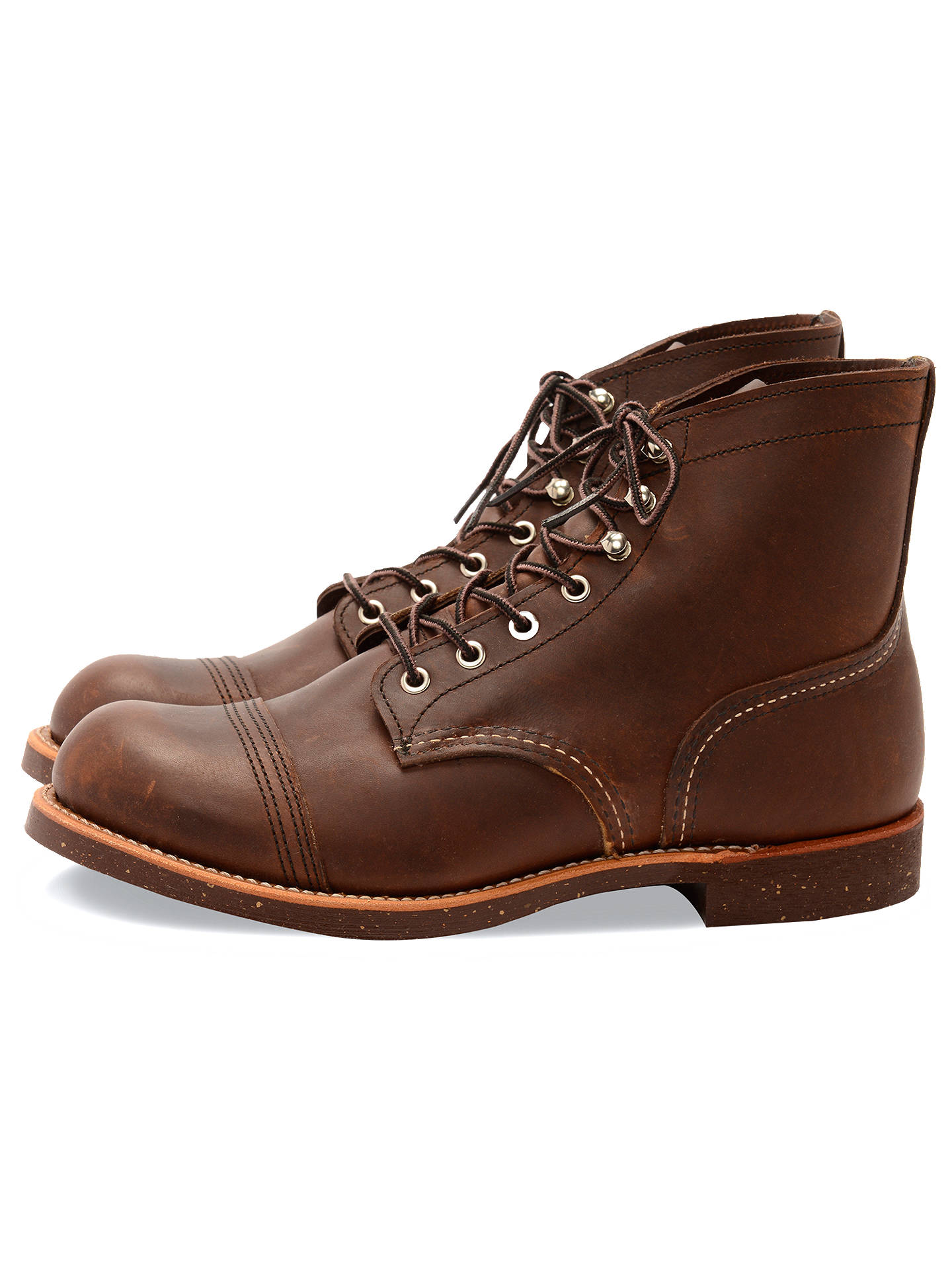 1522e89c49b Red Wing 8111 Iron Ranger Boots, Amber Harness