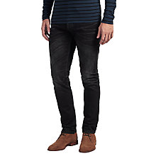 Buy Denham Razor AB1Y Jeans, Washed Black Online at johnlewis.com