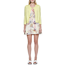 Buy French Connection Summer Bambino Long Sleeve Cardigan, Lemon Sugar Online at johnlewis.com
