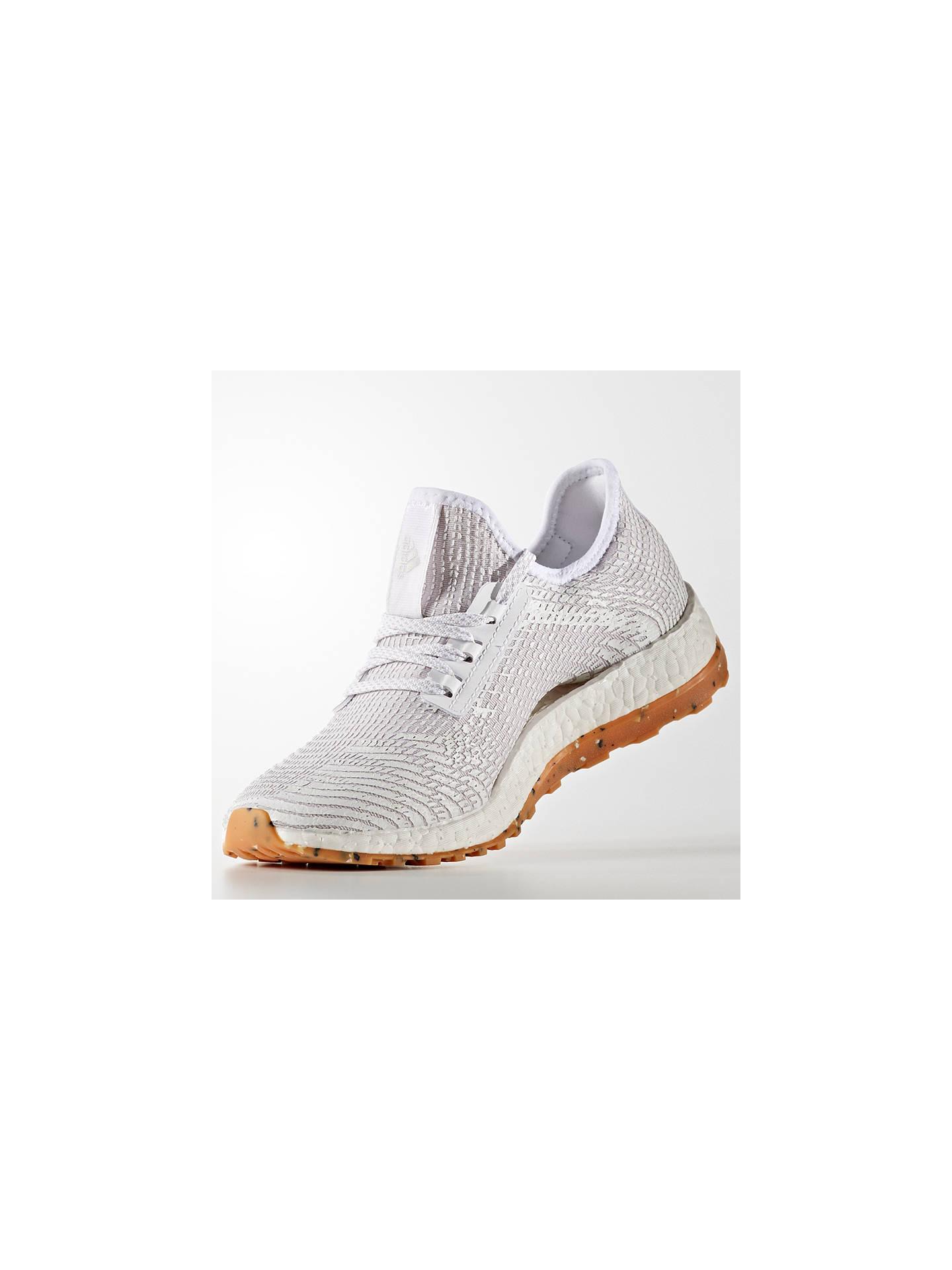 bf8123f6caa424 ... new style buyadidas pureboost all terrain womens running shoes crystal  white pearl grey 4 3fdb3 62a5e