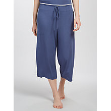 Buy DKNY Wide Capri Pyjama Bottoms, Blue Online at johnlewis.com