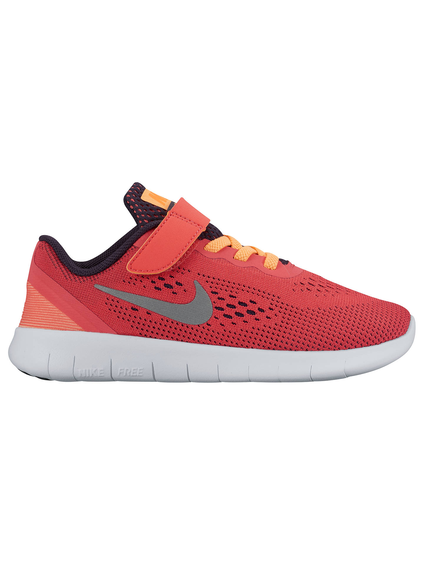 13299dacc55f4 ... discount code for buynike childrens free run ps trainers coral 10 jnr  online at johnlewis.