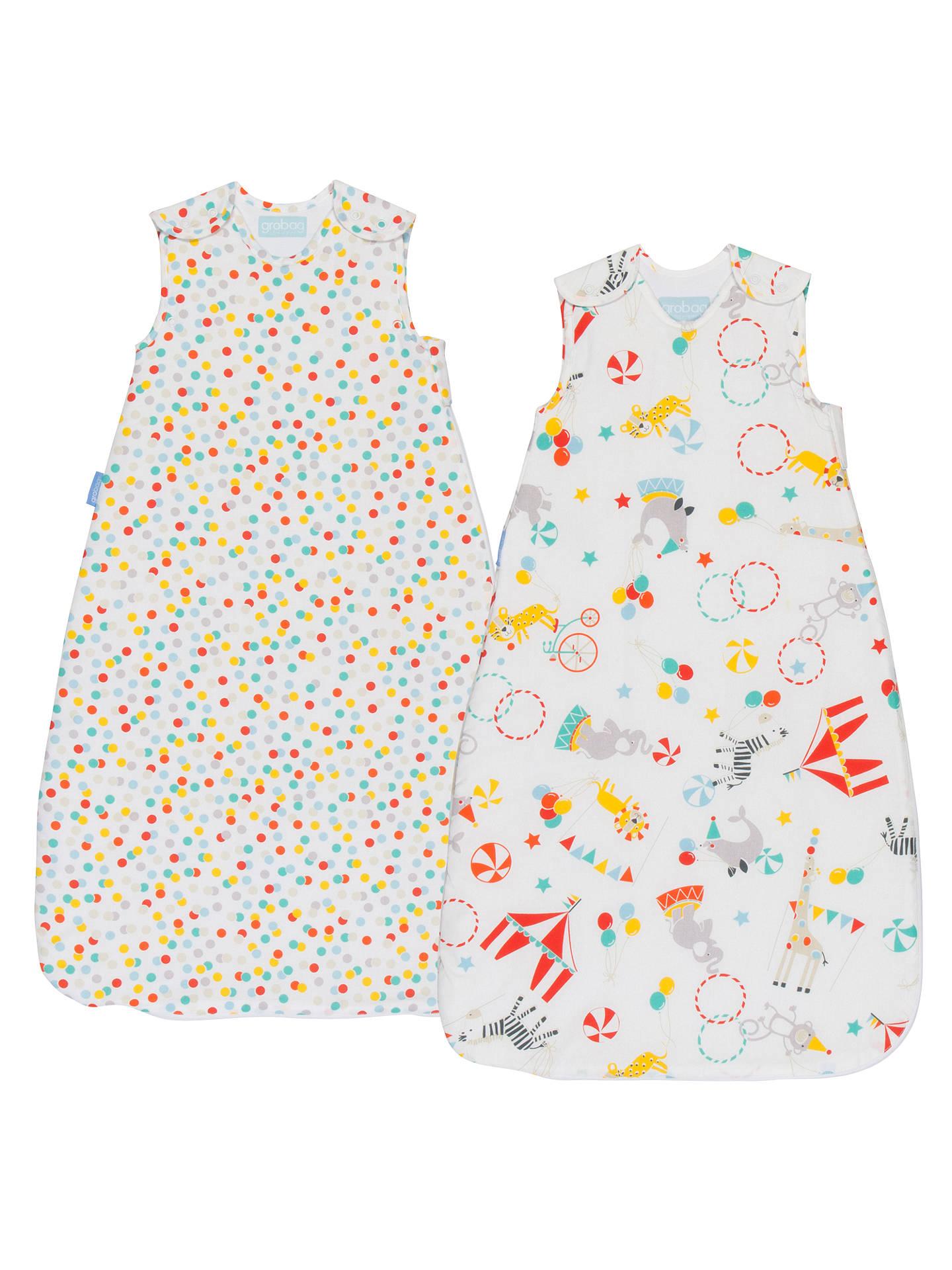 Sleeping Bags & Sleepsacks Nursery Bedding Set Of 3 Grobag Sleepy Circus 18-36 Months 1 Tog Spring/summer