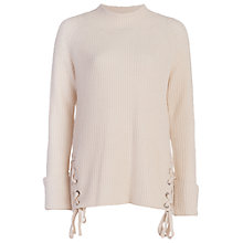Buy French Connection Freedom Fringe Jumper, Classic Cream Online at johnlewis.com